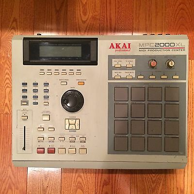 MPC 2000 XL CF CARD INSTALLED! 1.205 operating system