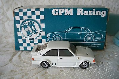 Vintage Diecast GPM Racing Car 8102 Ford Escort RS1700 Turbo Prototype & Box