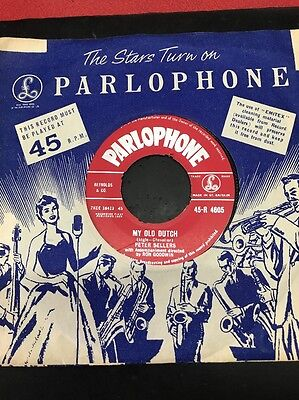 """PETER SELLERS My Old Dutch 7"""" VINYL UK Parlophone 1959 B/w Puttin' On The Smile"""