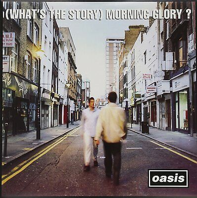 OASIS (What's The Story) Morning Glory?  2 x Heavyweight Vinyl LP 2014 NEW