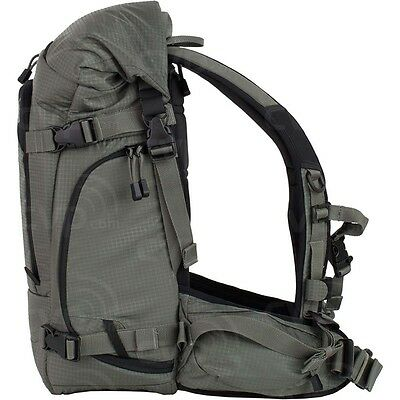 F-stop Kenti backpack with adjustable padded interior for camera equipment.
