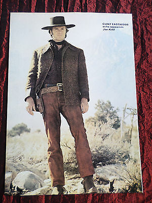 """Clint Eastwood - Film Star - 1 Page Picture -"""" Clipping / Cutting""""- #4"""