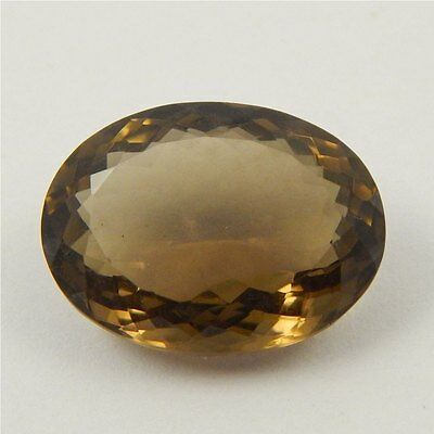 18.3 cts Natural Smoky Quartz Crystal Gemstone Healing Point Faceted P#191-32