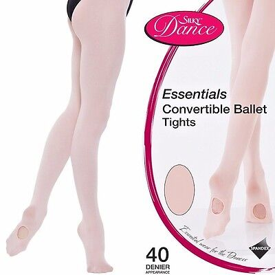 Silky Essential Convertible / Footed  Ballet Dance Tights all sizes