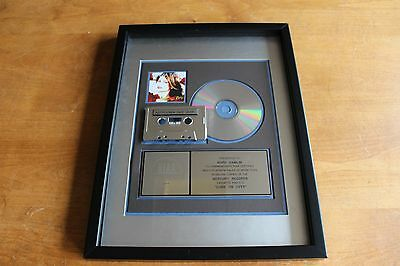 Shania Twain - USA RIAA Platinum CD Award / Come On Over 17,000,000 Sold