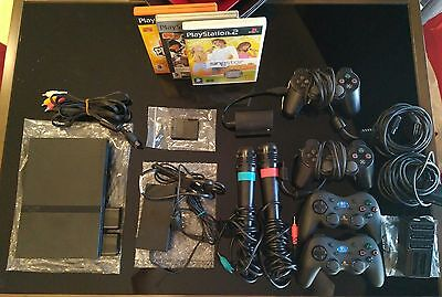 Play Station 2 PS2 Slim con extras