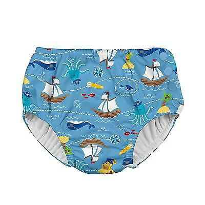 Swim Diaper Baby Pool Beach Infant Toddler Reusable Breathable Absorbent Snap 3T