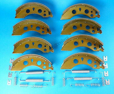 2 x Axle Set 200x50 Brake Shoes for ALKO Caravan & Older Ifor Williams Trailers