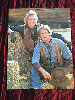 """Ben Murphy- Roger Davis - Film Star - 1 Page Picture -"""" Clipping / Cutting"""""""
