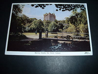 IRISH  POSTCARD BLARNEY CASTLE Co CORK   IRELAND (C8