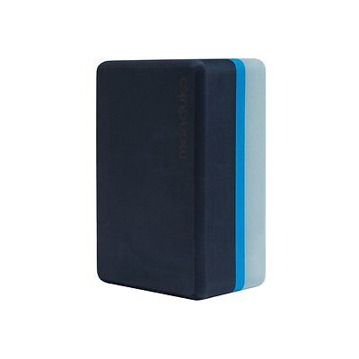 NEW Manduka Recycled Uphold Foam Yoga Block, Cueva Azul