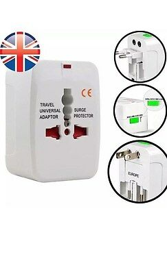 World All in one Travel Adapter Converter to US EU AU UK Plug With USB
