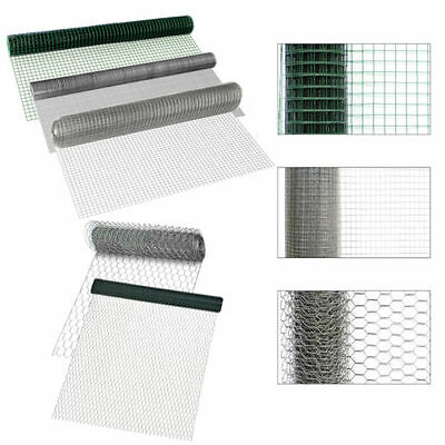 [pro.tec] Wire Mesh Fence Fence Viereck- Hexagon Mesh Hares Wire Grid Fence