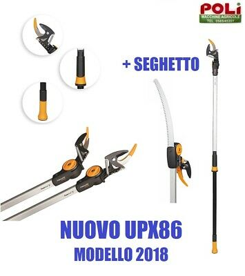 FISKARS UP86 SVETTATOIO UNIVERSAL GARDEN CUTTER UP86 TELESCOPICO art.1001641