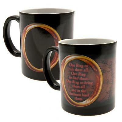 Official Licensed Product The Lord Of The Rings Heat Changing Mug Cup Coffee New