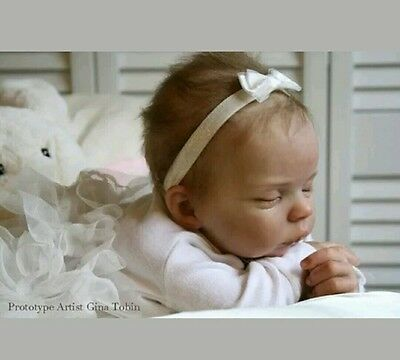 Reborn Doll Kit Haley By Laura Tuzio Ross-Limited Edition 1200