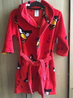 H&M Angry Birds Dressing Gown Size 4-6