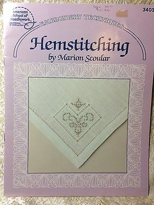Hemstitching by Marion Scoular - American School of Needlework