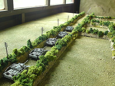 68 pieces of 15mm ww2 Bocage suitable for flames of war