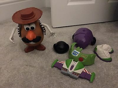 Mr Potato Head Bundle - Buzz And Woody Outfits