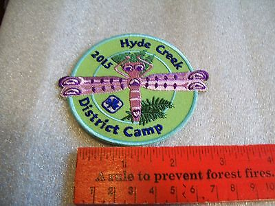 Canadian Girl Guides  Badge/Patch Hyde Creek District Camp