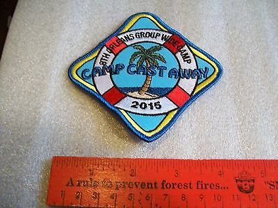 Canadian Girl Guides  Badge/Patch  Camp Cast Away