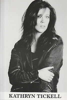 """KATHRYN TICKELL SCARCE 8""""  x 6"""" BLACK & WHITE PROMOTIONAL PUBLICITY PHOTO"""