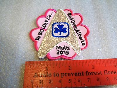 Canadian Girl Guides  Badge/Patch To BOLDLY Go....