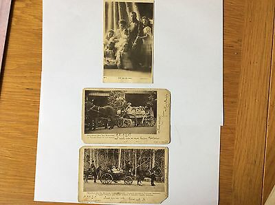Russian Royal Family postcards 1907