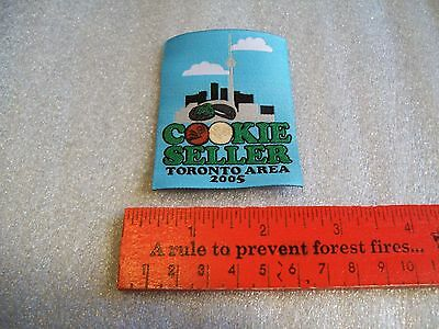 Canadian Girl Guides  Badge/Patch Cookie Seller Toronto Area 2005
