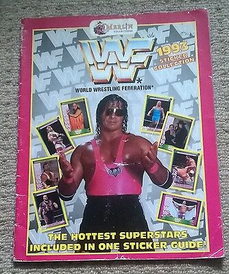 Wwe Wwf  Wrestling 1993  Sticker Album