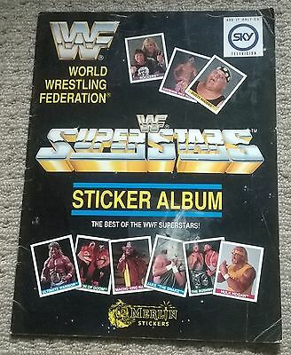 Merlin Wwe Wwf  Wrestling Part Full  Sticker Album