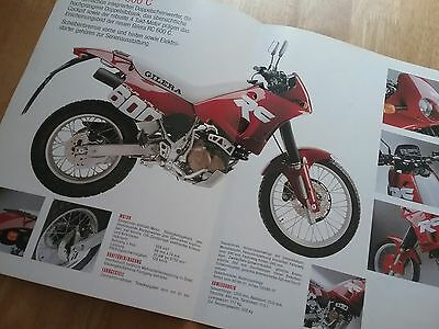 Gilera RC600 C Brochure Mint Condition. Nordwest