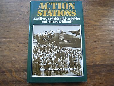 Military Airfields Of Lincolnshire & East Midlands,action Stations 2,b Halpenny