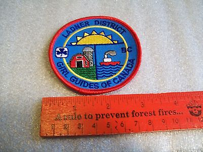 Canadian Girl Guides  Badge/Patch Ladner District