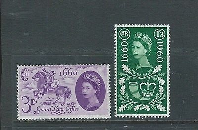 1960 Gb Qeii Commemorative - General Letter Office Mnh Set