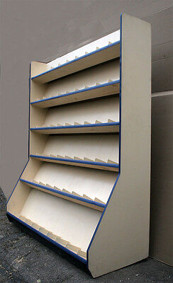 2avail Literature Brochure Pamphlet Book Wood Display Case Shelf Wall Unit Stand