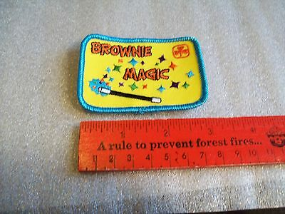 Canadian Girl Guide Badge/Patch Brownie Magic