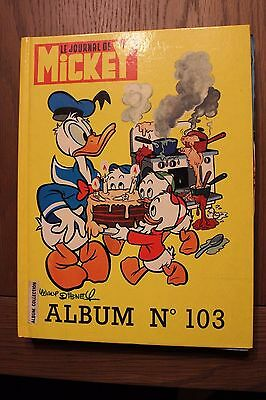 Album n°103 journal de Mickey