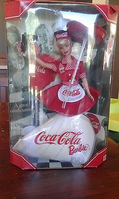coca cola barbie doll 1998
