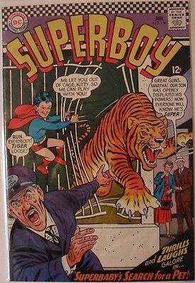 """Superboy #130 (1966) """"Superbaby's search for a pet!"""""""