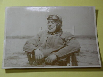 WW2 Japanese Picture of the army air force pilot.Very Good