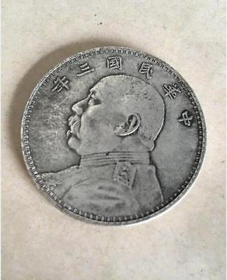 39MM old world old silver coins '民国 三年' valuable collection value