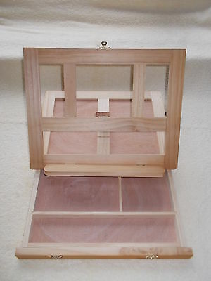 Portable Table Top Easel Art Box