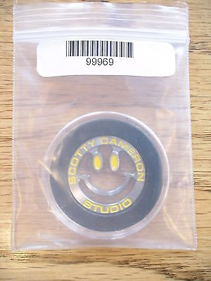 Scotty Cameron Titleist Smiley Face US Open Ball Marker PGA Rare Sold Out New