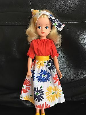 Vintage Pedigree Sindy Doll In Carnival Girl Outfit Excellent
