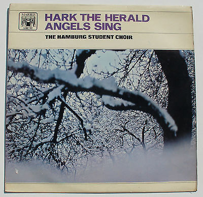 LP - Hark The Herald Angel Sing - Hamburg Student Choir