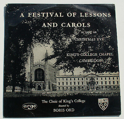 LP - A Festival of Lessons & Carols - King's College