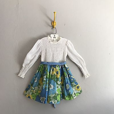 Vintage Kate Greenaway Girls Dress