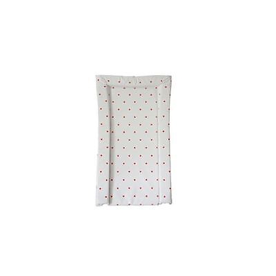 East Coast Nursery Essential Baby Changing Mat Red Spots Easy Kid Child Cleaning